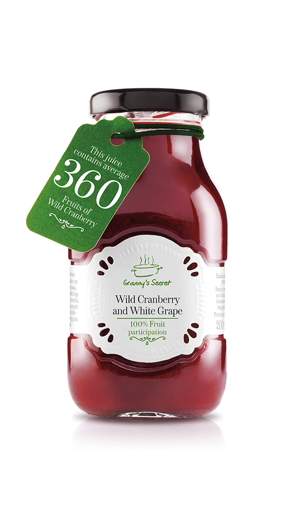 Wild cranberry & white grape